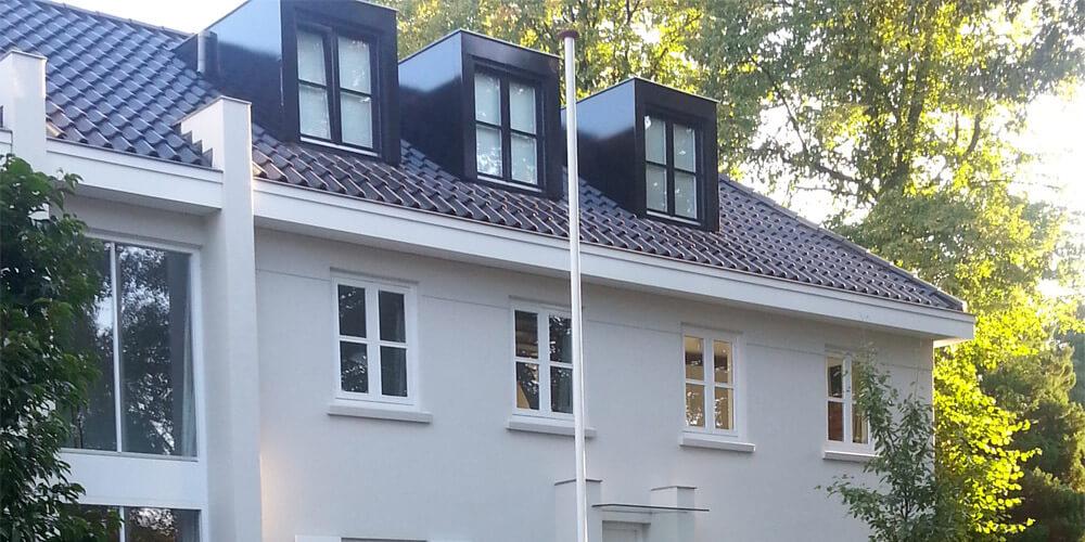Nieuw dak - schilderen, glas, stukadoor - Schildersbedrijf Brand